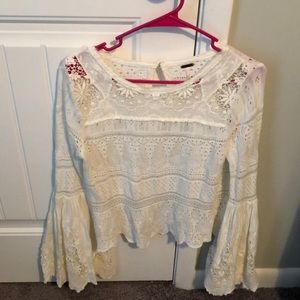Free People Once Upon A Time Bell Sleeve